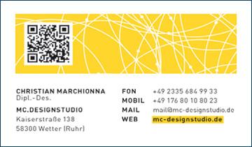 Diplom Designer Christian Marchionna